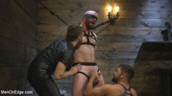Hunter Samson in 'Tall Stud Hunter Samson Tormented with Rope Bondage and Orgasm Denial'