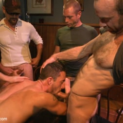 Isaac Hardy in 'Kink Men' Gangbang and cum for a stuck up go-go boy (Thumbnail 2)