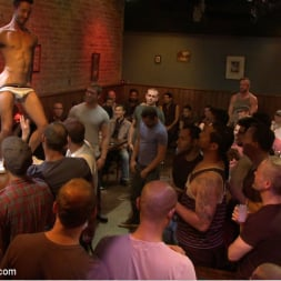 Isaac Hardy in 'Kink Men' Gangbang and cum for a stuck up go-go boy (Thumbnail 5)