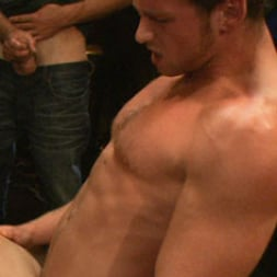Isaac Hardy in 'Kink Men' Gangbang and cum for a stuck up go-go boy (Thumbnail 9)