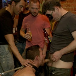 Isaac Hardy in 'Kink Men' Gangbang and cum for a stuck up go-go boy (Thumbnail 15)