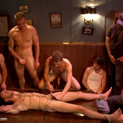 Isaac Hardy in 'Kink Men' Ripped go-go boy beaten, fucked and covered in cum (Thumbnail 8)