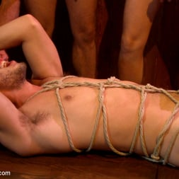 Isaac Hardy in 'Kink Men' Ripped go-go boy beaten, fucked and covered in cum (Thumbnail 9)