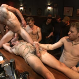 Isaac Hardy in 'Kink Men' Ripped go-go boy beaten, fucked and covered in cum (Thumbnail 16)