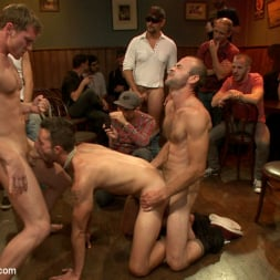 Isaac Hardy in 'Kink Men' Ripped go-go boy beaten, fucked and covered in cum (Thumbnail 19)