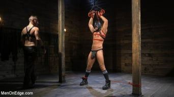 Jack Andy in 'Submissive Stud Andy Jack Bound in Rope and Fucked in Ass!!'
