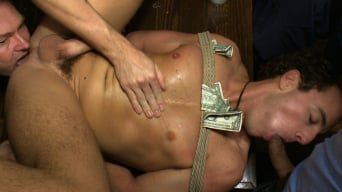 Jacob Durham in 'Horny men attack a hot pole dancer at a local strip joint'