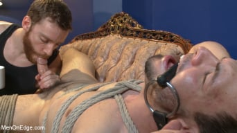 Jason Maddox in 'Muscular Stud, Jason Maddox, Begs to Cum In bondage for the First Time'