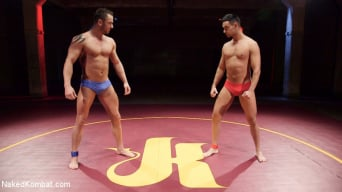 Jason Styles in 'vs. Josh Conners: Tall beefy studs slam on the mat'