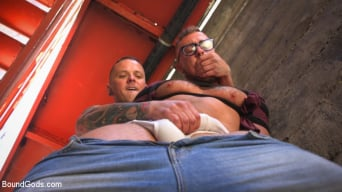 Jay Austin in 'Muscle Stud is Shackled and Flogged in the Streets for SF Pride Weekend'