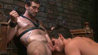 Jett Jax in 'New dom Jaxton Wheeler brutally throat fucks new sub Jett Jax'