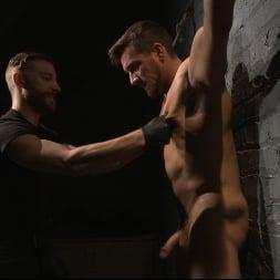 Jordan Boss in 'Kink Men' Straight Hunk Jordan Boss Mercilessly Beaten and Made to Cum (Thumbnail 9)