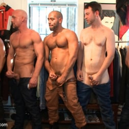 Jordan Foster in 'Kink Men' Fresh Southern meat gets used in a clothing store (Thumbnail 7)