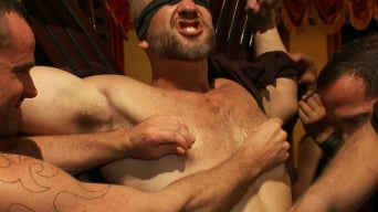 Josh West in 'Live Shoot: Dirk Caber and 200 horny men at Folsom weekend party.'
