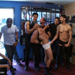 Josh West in 'Kink Men' Use and humiliate a blond stud at Stompers Boots. (Thumbnail 1)