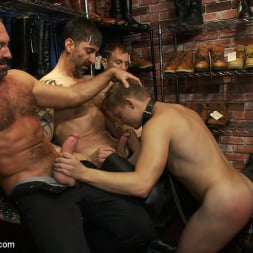 Josh West in 'Kink Men' Use and humiliate a blond stud at Stompers Boots. (Thumbnail 2)