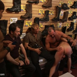 Josh West in 'Kink Men' Use and humiliate a blond stud at Stompers Boots. (Thumbnail 13)