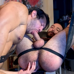 Julian Torres in 'Kink Men' Holiday Stuffing: Seth Santoro Fists Hairy Stud Julian Torres (Thumbnail 5)