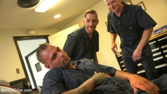 Kai Donec in 'Motorcycle Mechanic Stud Gets His Road Hard Hog Ridden to the Edge'