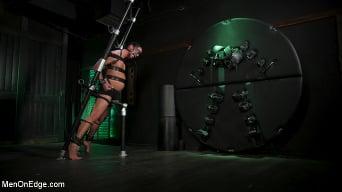 Kinky Viktor in 'Kinky Viktor: New Sub Bound, Roped, Edged and Shoots A Fat Load'