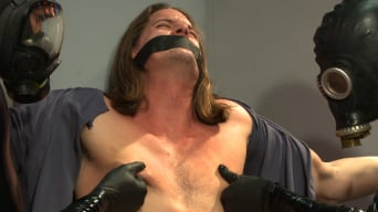 Kip Johnson in 'Straight stud with a big fat cock taken and milked by perverted aliens'