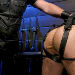 Kristofer Weston in 'Kink Men' ASH PIGS: Cigar Smoking Leather Daddy Breaks in His Hairy Muscle Slave (Thumbnail 6)