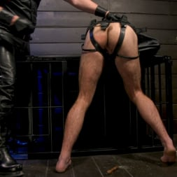 Kristofer Weston in 'Kink Men' ASH PIGS: Cigar Smoking Leather Daddy Breaks in His Hairy Muscle Slave (Thumbnail 7)