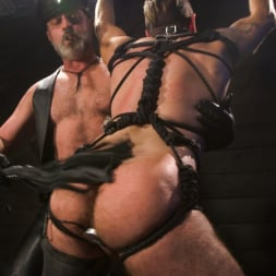 Kristofer Weston in 'Kink Men' ASH PIGS: Cigar Smoking Leather Daddy Breaks in His Hairy Muscle Slave (Thumbnail 17)