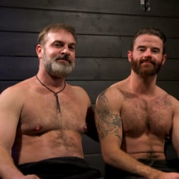 Kristofer Weston in 'Kink Men' ASH PIGS: Cigar Smoking Leather Daddy Breaks in His Hairy Muscle Slave (Thumbnail 22)