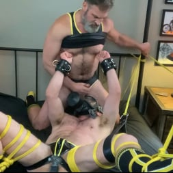 Kristofer Weston in 'Kink Men' Ties Up Mike Gaite and Torments His Hairy Hole (Thumbnail 13)