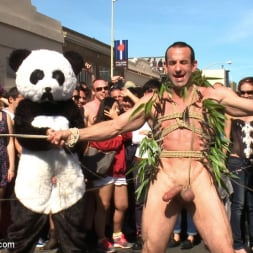 Master Avery in 'Kink Men' Naked Pandas Trick or Treat - Just in time for Halloween (Thumbnail 11)