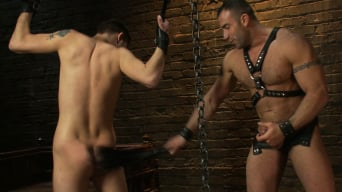 Max Gunnar in '19 year old boy gets his BDSM cherry popped by Spencer Reed'