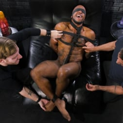 Micah Martinez in 'Kink Men' The Curious PA: Newbie Micah Martinez gets taught a lesson! (Thumbnail 3)