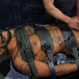 Micah Martinez in 'Kink Men' The Curious PA: Newbie Micah Martinez gets taught a lesson! (Thumbnail 7)
