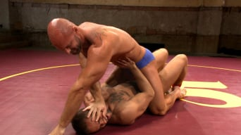 Mitch Vaughn in 'Naked Kombat's Summer Smackdown Tournament - Match 3'