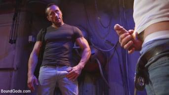 Myles Landon in 'Street Meat: Back Alley Bondage'
