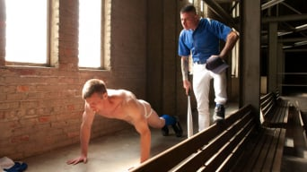 Nick Moretti in 'Innocent baseball jock gets violated by his nasty coach.'