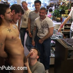 Parker London in 'Kink Men' Cocky stud gets gangbanged in a clothing store (Thumbnail 10)