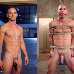 Patrick Rouge in 'Kink Men' Cums in Mid Air (Thumbnail 10)