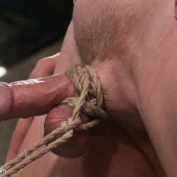 Patrick Rouge in 'Kink Men' Cums in Mid Air (Thumbnail 11)