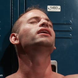 Patrick Rouge in 'Kink Men' Cums in Mid Air (Thumbnail 15)