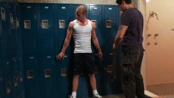 Patrick Rouge in 'Cums in Mid Air'