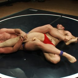 Paul Wagner in 'Kink Men' Muscled hunks duke it out in the gym, loser takes it in the ass! (Thumbnail 1)