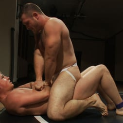 Paul Wagner in 'Kink Men' Muscled hunks duke it out in the gym, loser takes it in the ass! (Thumbnail 5)