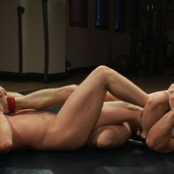 Paul Wagner in 'Kink Men' Muscled hunks duke it out in the gym, loser takes it in the ass! (Thumbnail 7)