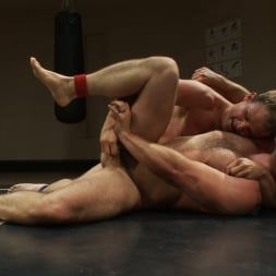 Paul Wagner in 'Kink Men' Muscled hunks duke it out in the gym, loser takes it in the ass! (Thumbnail 11)