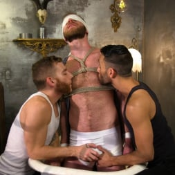 Peter Marcus in 'Kink Men' Hairy Experienced Edger Meets His Match (Thumbnail 2)