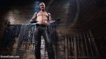 Pierce Paris in 'Captive God Pierce Paris, Bound in Rope Bondage and Fucked by Hot Stud'