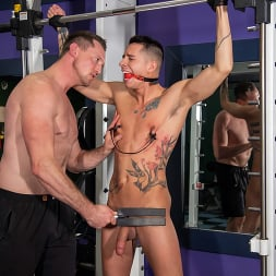 Pierce Paris in 'Kink Men' No Pain No Gain: Vincent O'Reilly Takes Pierce Paris' Monster Cock (Thumbnail 2)