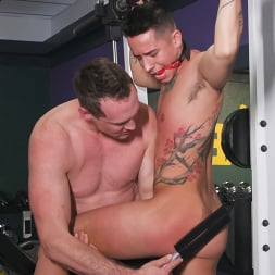 Pierce Paris in 'Kink Men' No Pain No Gain: Vincent O'Reilly Takes Pierce Paris' Monster Cock (Thumbnail 5)